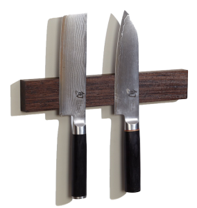 Wenge Wood Magnetic Knife Holder 12 Inch Knife Strip And Storage