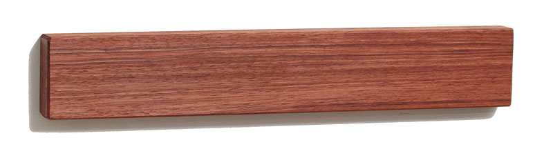Bubinga Wood Magnetic Knife Holder 12 Inch Knife Strip And Storage