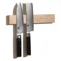 M.O.C. Board Maple Wood Magnetic Knife Holder